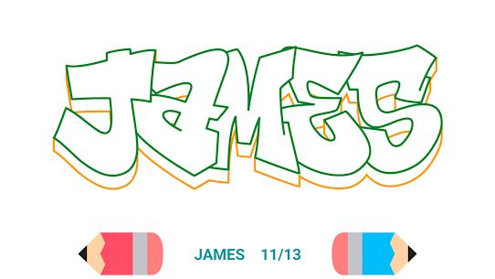 How to Draw Graffiti – Name Creator 4