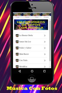 Hacer Videos De Fotos Con Musica y Escribir Guia 1.0 Screenshots 5