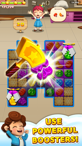 Sweet Road: Cookie Rescue Free Match 3 Puzzle Game 6.8.0 screenshots 2