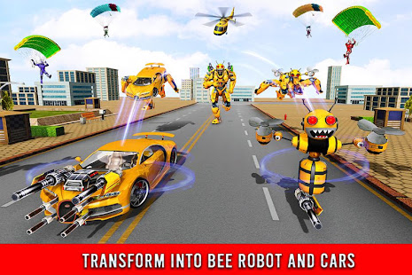Bee Robot Car Transformation Game: Robot Car Games 1.37 Screenshots 12