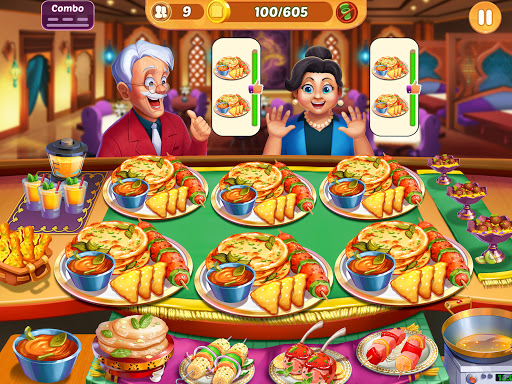Cooking Crush: New Free Cooking Games Madness Apkfinish screenshots 11