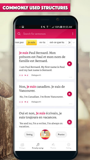 French Conversation: Learn to speak French android2mod screenshots 3