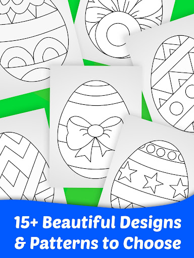Easter Egg Coloring Game For Kids  screenshots 6