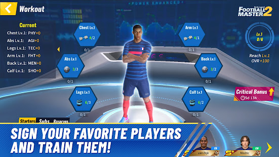 Football Master 2 - Soccer Star 1.4.112 Screenshots 2