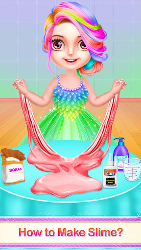 DIY Slime Maker Squishy Jelly ASMR Game apkpoly screenshots 6