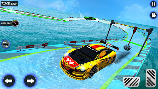 Extreme Mega Ramp GT Car Stunts- New Car Game  Screenshots 3