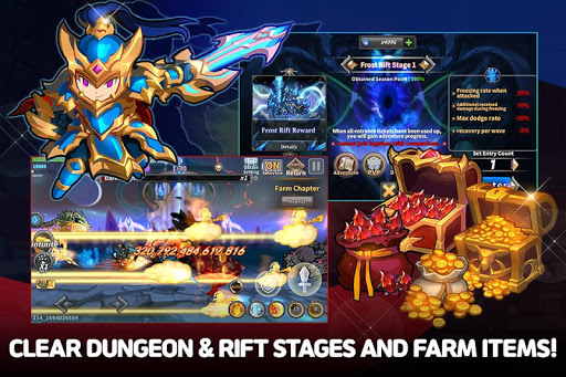 Raid the Dungeon : Idle RPG Heroes AFK or Tap Tap apkmr screenshots 3