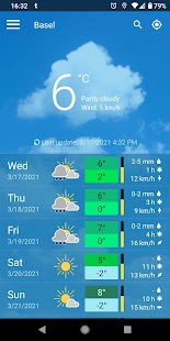 meteoblue weather & maps Screenshot