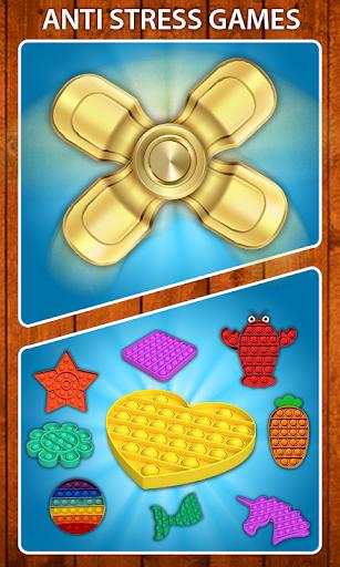 Code Triche Pop it Fidget Cube: Fidget Toys 3D Relax & Calm (Astuce) APK MOD screenshots 6
