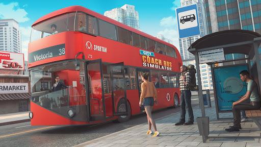 City Coach Bus Simulator 3D Apkfinish screenshots 13