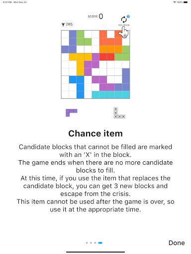 Blockdoku - Combination of Sudoku and Block Puzzle screenshots 20