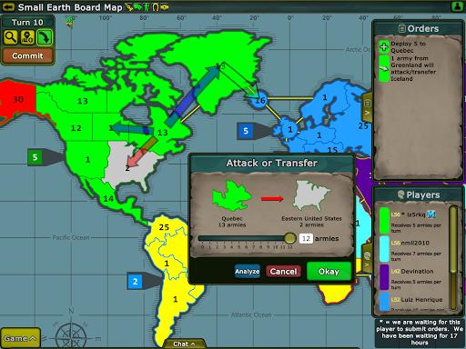 Warzone - turn based strategy v5.07.1.1 screenshots 8