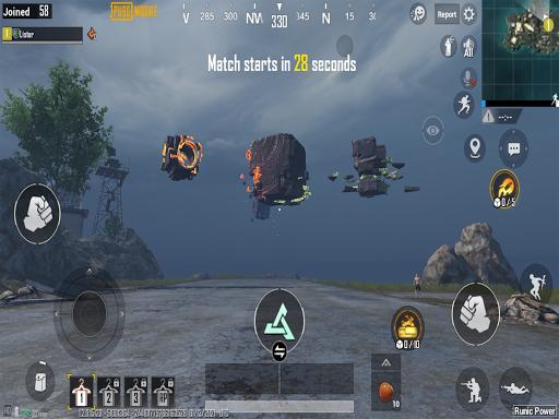 PUBG MOBILE - RUNIC POWER  APK screenshots 16