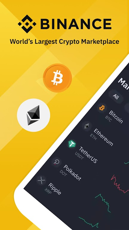 Binance: Bitcoin Marketplace & Crypto Wallet poster 0