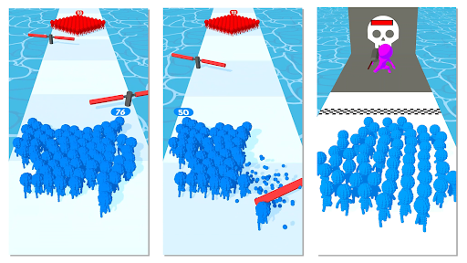 Crowd Pixel:Race and Clash! 0.2.274 screenshots 9