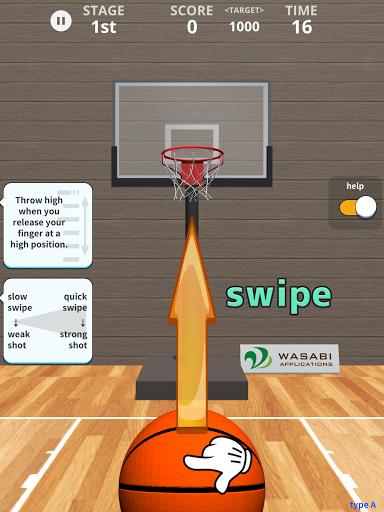 Swish Shot! Basketball Shooting Game screenshots 16