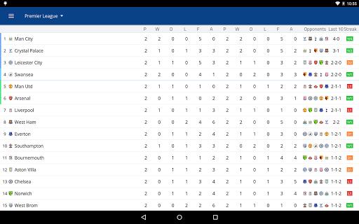 EPL Live: English Premier League scores and stats  Screenshots 11