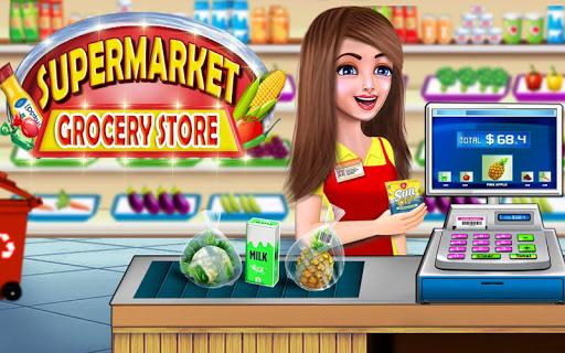 supermarket shopping cash register cashier games screenshot 2