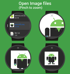 myWear File Explorer Screenshot