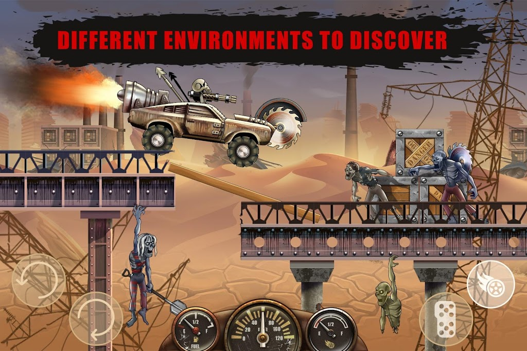 Zombie Hill Racing - Earn To Climb: Zombie Games poster 3