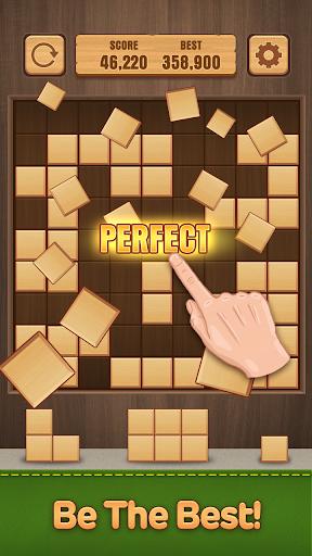 Wood Puzzle Block -Classic Puzzle Block Brain Game 1.5 screenshots 1