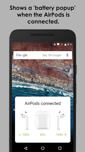 AirBuds Popup Free - airpod battery app v2.6.200111 free Screenshots 1