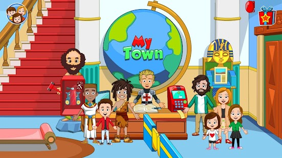 My Town : Museum - History & Science for Kids NEW Screenshot