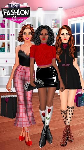 High Fashion Clique - Dress up & Makeup Game  screenshots 1