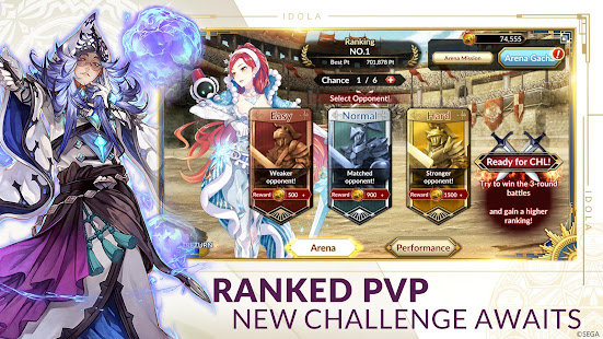 Hack Game Idola Phantasy Star Saga ENG apk free