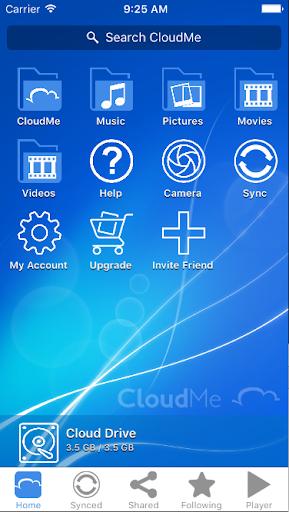 CloudMe modavailable screenshots 4