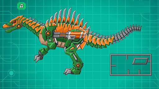 Assemble Robot War Spinosaurus apkmartins screenshots 1