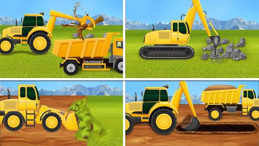 Construction Vehicles - Big House Building Games 1.0.4 screenshots 1