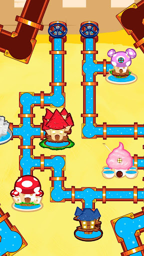 Plumber World : connect pipes (Play for free) screenshots 1