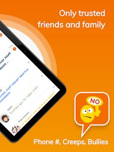 Stars Messenger. Safe Messenger Kids + Group Video