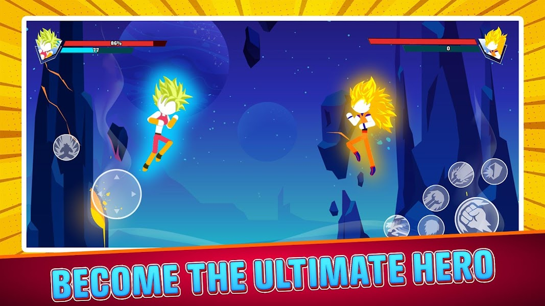 Stick Dragon Fighter: Epic Battle