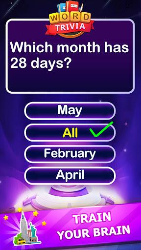 Word Trivia - Free Trivia Quiz & Puzzle Word Games 2.4 screenshots 6
