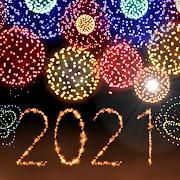New Year 2021 Fireworks