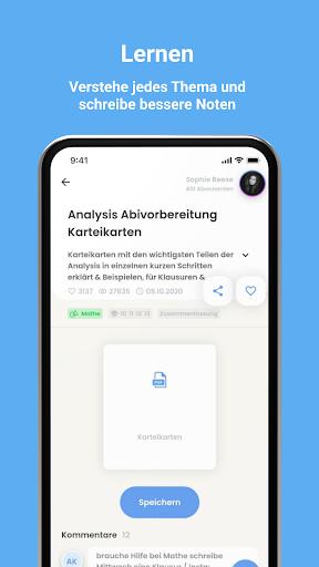Knowunity - Deine Schulapp. Schule.EndlichEinfach. android2mod screenshots 2