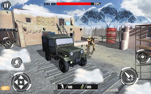Wüstenberg Scharfschütze modernen Shooter Screenshot