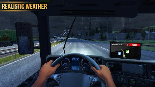 Truck Simulator 2018 : Tır Sürme Oyunu Oyna Full Apk İndir 6