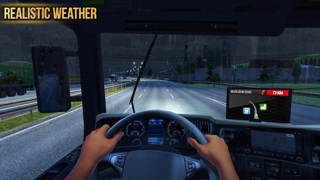 Truck Simulator 2018 : Europe poster 6