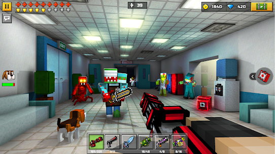 Pixel Gun 3D APK MOD 21.6.1 (Unlimited Diamond, Craft, Ammo) 10