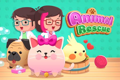 Animal Rescue - Pet Shop Game APK MOD – ressources Illimitées (Astuce) screenshots hack proof 1