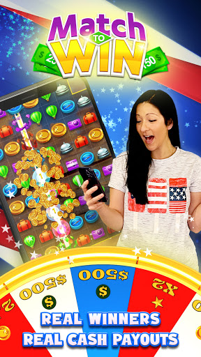 Match To Win: Win Real Prizes & Lucky Match 3 Game  screenshots 1