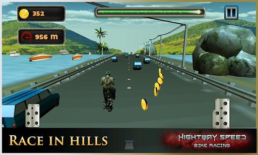 Highway Speed Motorbike Racer : Bike Racing Games  screenshots 4