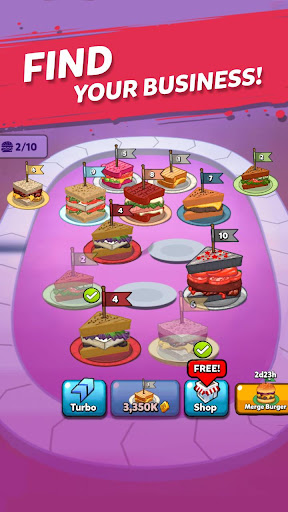 Merge Sandwich: Happy Club Sandwich Restaurant goodtube screenshots 13