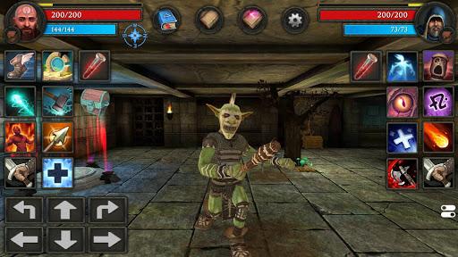 Moonshades: dungeon crawler RPG game  screenshots 6