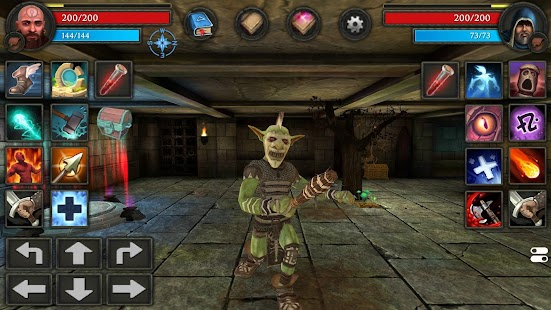 Moonshades: ein dungeon crawler RPG Screenshot
