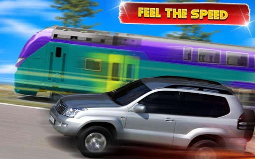 Train vs Prado Racing 3D: Advance Racing Revival modavailable screenshots 7