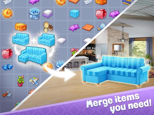 Merge Design: Home Renovation & Mansion Makeover 1.3.1 screenshots 8